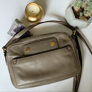 Marc by Marc Jacobs Crossbody Purse in Taupe